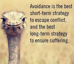 avoidence